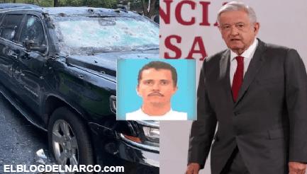 El Mencho declaró la guerra a AMLO con atentado, tres funcionarios más en la mira del CJNG