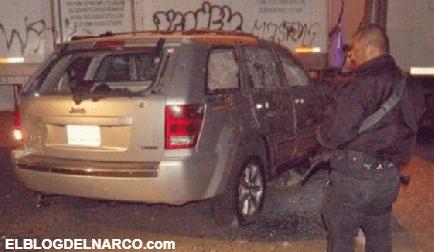 FOTOS 10 granadazos y 350 impactos, entre ellos calibre .50 resistió la blindada en Michoacán hace 10 años