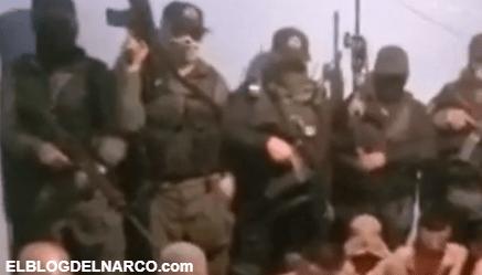 Otro VÍDEO El Mayo Zambada, desnuda, interroga y ejecuta con tiro de gracia a 15 del CJNG