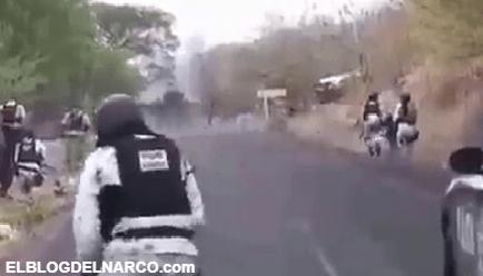 VÍDEO Narcoviolencia sin freno, las imágenes del terrible balacera entre sicarios y policías de Guerrero