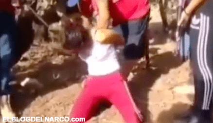 Vídeo fuerte en donde el Cartel de Sinaloa descuartizaronviva a unamujer del CJNG