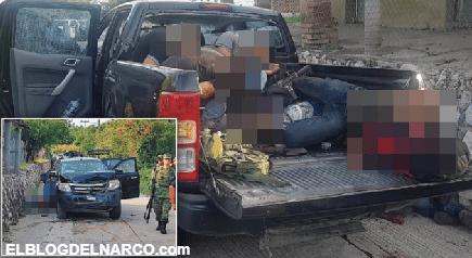 Así fue el día que Soldados se toparon con un convoy de Sicarios en Guerrero y un solo militar herido