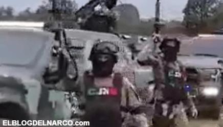 El estremecedor vídeo donde El Mencho muestra convehículos blindados y armas de alto calibre