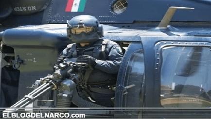 Gobierno Federal intimidan a los sicarios del CJNG abatiendo a sicarios desde helicóptero