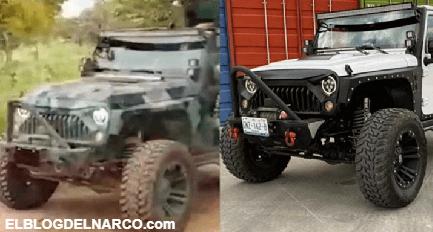 VIDEO Así le robaron a mano armada su Jeep, ya apareció tuneado en manos del CJNG