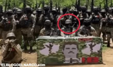 ¿Es El Mencho es el hombre que encabeza video del Grupo Élite del CJNG
