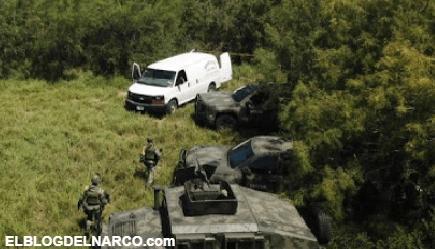 Abaten a 9 sicarios a orillas del río Bravo, en Miguel Alemán territorio que se disputa el CDN y CDG