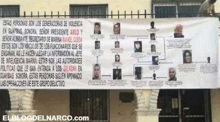 Al no poder con ellos el Cartel de Caborca se convierte en Sapo y dan nombres de operadores del CDS