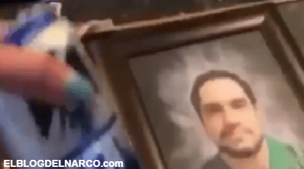 """Así fue el velorio de """"El Cesarín"""" jefe del Cartel de Juarez e hijo de """"El Señor de los Cielos"""""""