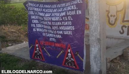 El Marro se niega a creer que ya perdió Guanajuato, coloca otra mantita para el CJNG