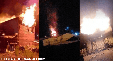 Sicarios de la línea saquean e incendian negocios y autos en Bocoyna, Chihuahua