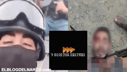 """VIDEO Capturan e interrogan a sicario que se grabó en El Aguaje diciendo que """"El Mencho les pelaba la v…"""""""