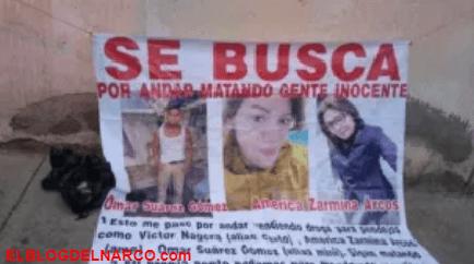 FOTOS La Familia Michoacana corta en pedazos a jovencitos por supuestamente vender drogas