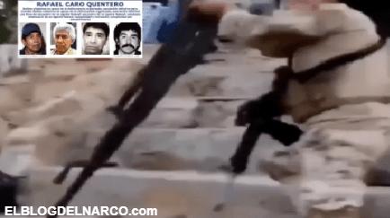 VIDEO: Pistoleros del Cártel de Sinaloa humillan a Caro Quintero, el Narco de Narcos