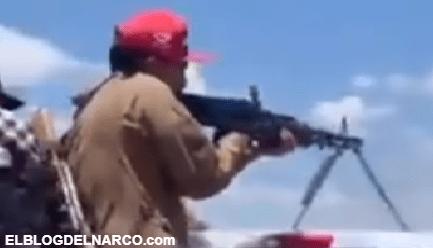 Video donde pistoleros de los Chapitos enseñan a usar las armas a un nuevo recluta