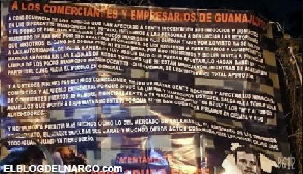 Cártel de Santa Rosa de Lima deja cuerpo descuartizado en Celaya y el CJNG cuelga narcomantas