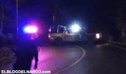 Emboscan y ejecutan a cuatro Policías en Pinos, Zacatecas