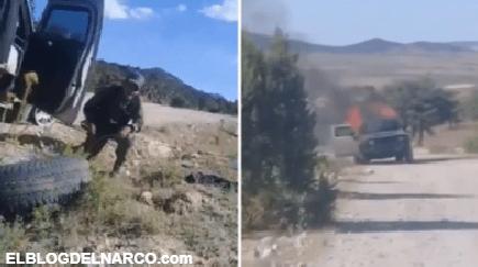 Filtran video de enfrentamiento entre el CJNG y Los Cabrera del Cartel de Sinaloa en Zacatecas