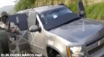 VIDEO Sicarios del Cártel del Noreste quedaron así tras atacar a soldados mexicanos