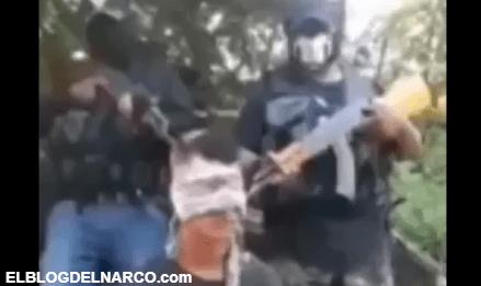 Video atemorizante donde Carteles Unidos interrogan y decapitan a integrante de Los Tlacos