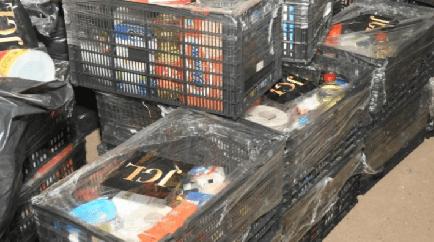 """De parte de JGL """"El Chapo Guzmán"""" entregan despensas a asilo en Culiacán, Sinaloa"""
