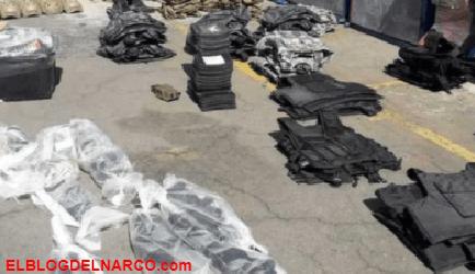 Decomisan fusiles Barret y una ametralladora antiaérea tras cateo en Jalisco