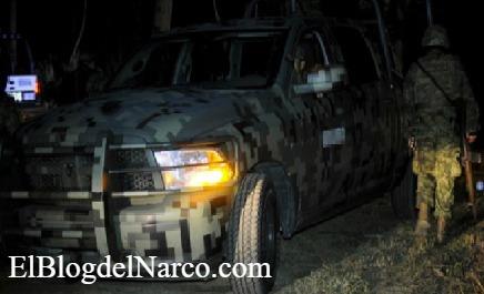 Nueve sicarios abatidos del CDN es el saldo de una emboscada a Soldados esta noche en NL