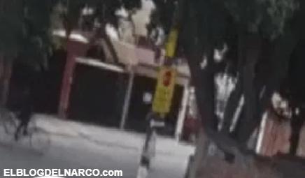 Video donde captan momento exacto de narcoejecución en zona que el CJNG busca conquistar