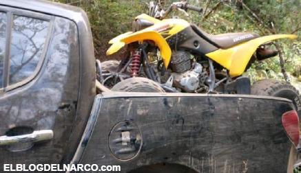 Emboscan a Policía Michoacán en Salvador Escalante, después decomisan narco-campamento