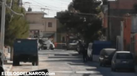 Enfrentamiento con Sicarios en Guanajuato deja a dos policías heridos y 1 hombre ejecutado