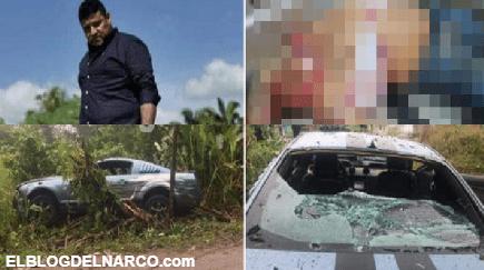FOTOS Ejecutan a El Kalimba temido y despiadado líder Huachicolero, Sicarios se llevaron el cuerpo