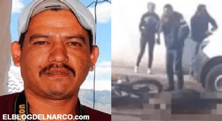 Fotografió la escena tras un enfrentamiento del CJNG en Zacatecas, lo siguieron y lo mataron