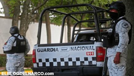 La Guardia Nacional enfrentó a presuntos sicarios en dominios del CJNG, murió un agente y cuatro más fueron heridos
