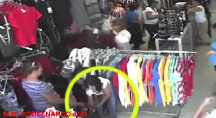 """""""La Perra"""", es la jefa de una banda de Rateros de tiendas de la Ciudad de México protegida por la Fiscalía del EDOMEX"""