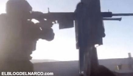 Sicarios del Cártel de Sinaloa se graban enfrentando a Sicarios de Caro Quintero en Sonora