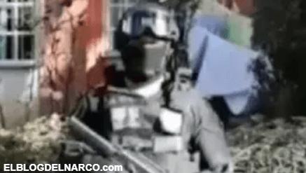 """VIDEO: ¡Ulises!, gritaba y lloraba mamá mientras detenían a su hijo, de la banda de los """"Estúpidoz"""""""
