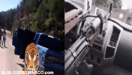 VIDEO El Narco convertido en autoridad, así patrullan sus plazas en todo el Territorio Nacional