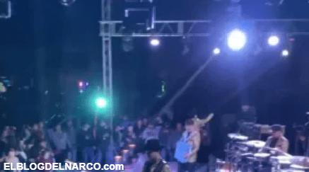 VIDEO Y FOTOS Narcoposada de los Chapitos con grupos musicales, piñatas y rifa de autos