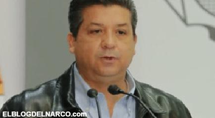 Cabeza de Vaca negó que el existan narcos en Tamaulipas pese a la ola de violencia y 19 calcinados