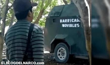 """Camiones monstruos de Cárteles Unidos, ahora están siendo utilizados como """"Barricadas Movibles"""""""
