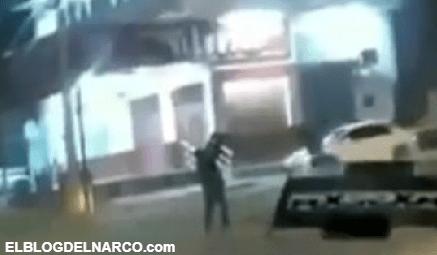 Con total impunidad, sicarios balearon las cámaras de videovigilancia en Mazatlán, Sinaloa