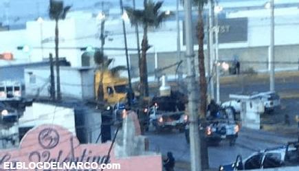 Confirman enfrentamientos y narcobloqueos en Nuevo Laredo, Tamaulipas