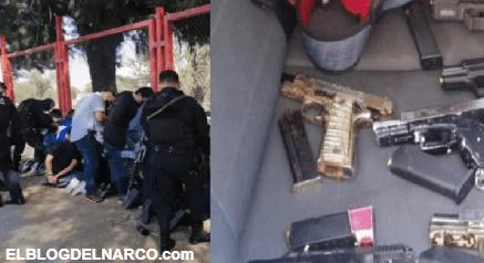 Detienen a grupo de Sicarios en Guadalajara que se preparaba para hacer una ejecución