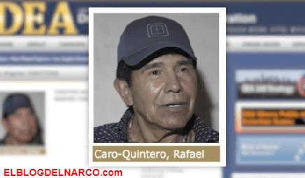 Dirige Caro Quintero el cártel de Caborca junto al cártel de Juárez y su brazo armado La Línea