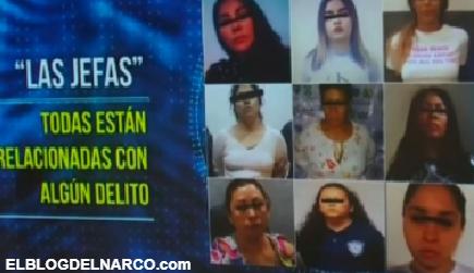 Ellas son 'Las jefas' del narco en CDMX, También hay células conformadas por mujeres