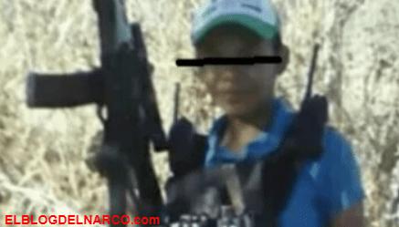 """Este es el """"Poderoso"""" Pulgarcín el Niño Sicario de la Familia preparado para enfrentar al CJNG"""