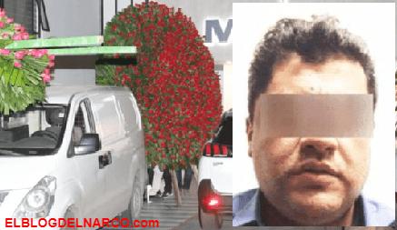 FOTOS Al funeral del hijo de el Azul llegaron mega coronas de rosas, se había fugado de penal