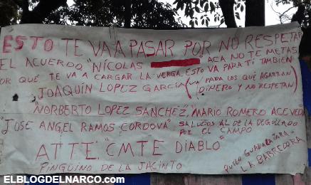 """FOTOS """"El Comandante Diablo"""" deja Narcomensaje con destazado en Cárdenas, Tabasco"""