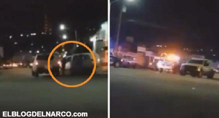 Las imágenes de la balacera que aterrorizó a Ensenada, zona asediada por el Cártel de Sinaloa