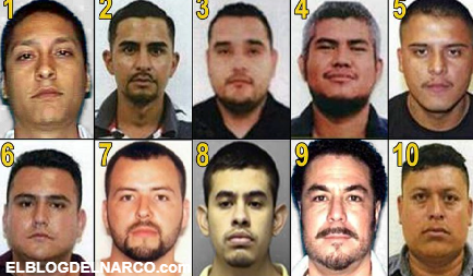 Líderes del CDG, CDN y Los Zetas, estos son los 10 criminales más buscados en Tamaulipas y Texas